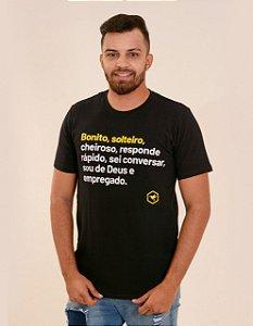 Camisa bonito solteiro