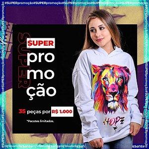 PACOTE 35 PEÇAS POR MIL REAIS