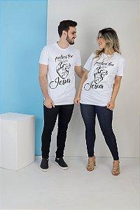 CAMISA PULSES FOR JESUS ( BRANCA )