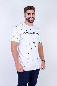 Longline yeshua ESTRELAS ( COR BRANCA)