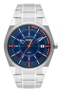 Relógio Orient MBSS1316 DOSX Masculino Prata