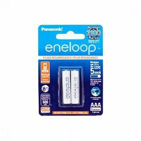 Pilhas Palito AAA Panasonic Eneloop Recarregavel 800mAh c/02