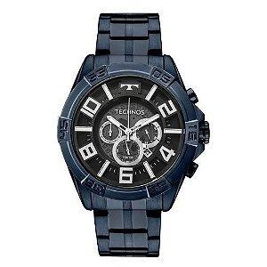 Relógio Technos Masculino OS2ABH/4P Cronógrafo Azul BigCase