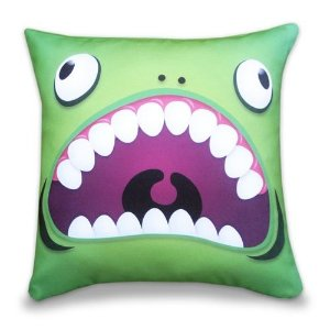 Almofada Divertida Creature Verde