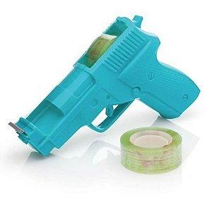 Porta Durex Divertido Pistola