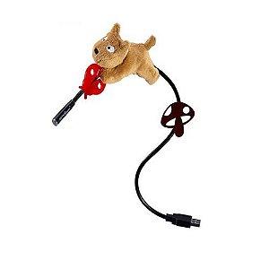 Luminária Divertida USB Cachorrinho Don Don