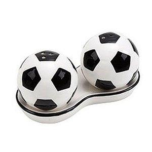 Saleiro e Pimenteiro Cerâmica Bola de Futebol