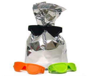 Clip para Plastico Divertido - Bag Clip Óculos - 3 unids
