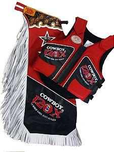 Kit Calça e Colete Personalizado Cowboy 120x