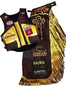 Kit Calça e Colete Personalizado Campeão Ariquemes 2017