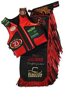 Kit Calça e Colete Personalizado Campeão Uchoa 2017