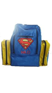 Mochila de Tralha Personalizada Superman