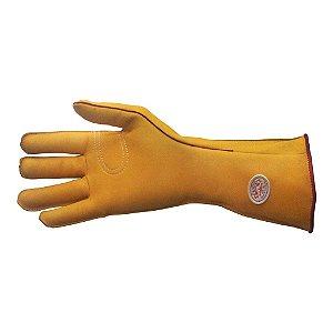 Luva de Montaria Longa amarela