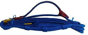 Corda de Montaria Mista Fabio Ribeiro Azul