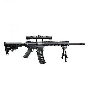 Rifle Smith & Wesson M&P 15-22 Sport c/ Luneta 4x e Bipod
