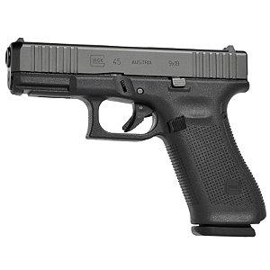 Pistola Semi-Automática Glock G45 MOS Calibre 9mm 17+1 Tiros