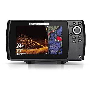GPS Sonar Humminbird Helix 7 CHIRP MEGA DI GPS G3 Transdutor