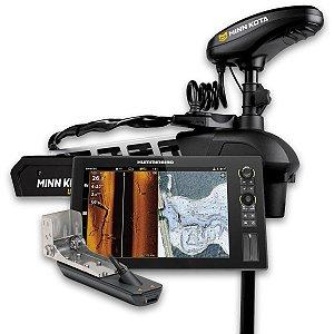 GPS Sonar Humminbird Solix 12 MSI e Minn Kota Ultrex 80lbs