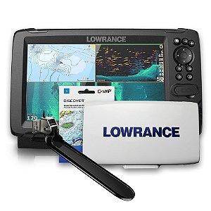 GPS Sonar Lowrance Hook Reveal 9 TS ROW Capa e Carta Náutica