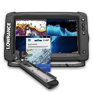 GPS Sonar Lowrance Elite Ti2 9 c/ Active Imaging e Carta