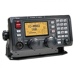 Rádio Marítimo HF/SSB Icom IC-M802 150W c/ Distress