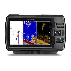 Sonar Fishfinder com GPS Garmin Striker 7dv com Transducer