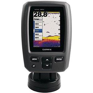 Sonar Garmin eCho 301c Fishfinder DownVü 3.5 Polegadas Colorido