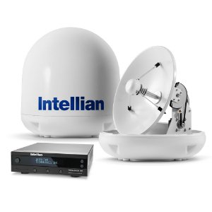 Antena De TV via Satélite Intellian i4 HDTV 45cm