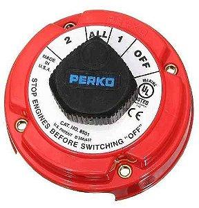Chave Geral para Bateria 4 Posições Perko 360A 11551