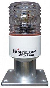 Luz de Navegacao Strobo em Led Optolamp Mega LX-III 4 em 1