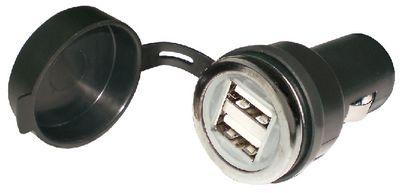 Adaptador USB Duplo 12V Seachoice 15071