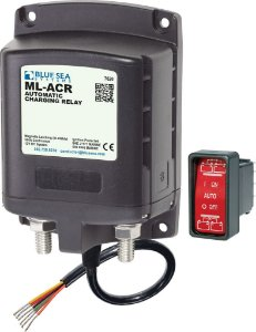 Relé Automático de Carga Isolador de Baterias BlueSea 7620 12V 500A