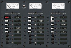 Painel de Comando Elétrico AC Main + 6 Posições DC Main + 15 Posições 8084