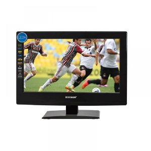 Tv 12v Led Com Dvd 15,6 Polegadas Booster BTV-15LED