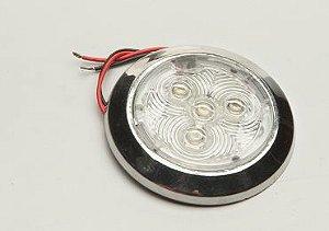 Luminária Utilitária Em Led Arieltek E1237 Branco Frio