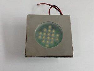 Luminária Cabine LCB-07 BC Quente QD E1102
