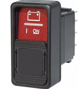 Interruptor Liga/Desliga 3 Posições Marinizada Bluesea 2145