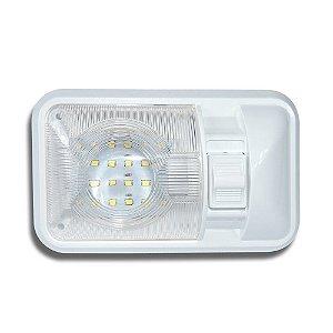 Luz de Led Marinizada Branca Para Banheiros 24-SMD-NW