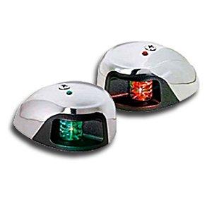 Luz de Navegação Led Vermelha e Verde Attwood A-3550-1