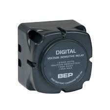 BEP Relé de detecção de tensão digital 12v ou 24v 140A