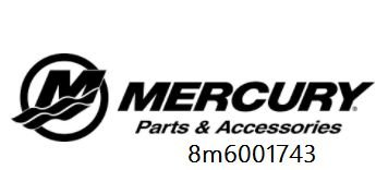 Bico injetor De Ar Mercury Optmax 8m6001743