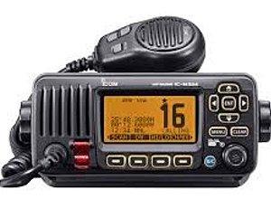 RÁDIO MARÍTIMO FIXO/MÓVEL 25W VHF PRETO  IC-M324 ICOM