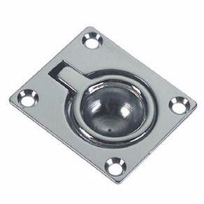 Puxador de Tampas de Embutir em Aço Fundido 38 x 48 mm