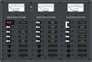Painel de Comando Elétrico AC Main + 6 Posições DC Main + 15 Posições 230V 8184