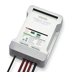 Carregador De Bateria Inteligente Pro Nautic 1250P 12V 50A