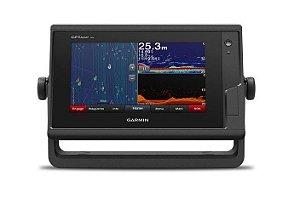 GPS Sonar Garmin GPSMAP 722xs com Transducer e Carta Náutica