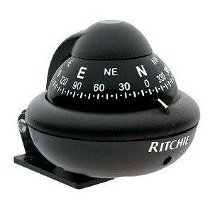 Bússola De Navegação Ritchie Sport X-10B Preta
