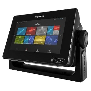 Gps Sonar RayMarine Axiom 7DV 600W Com Carta e Transducer