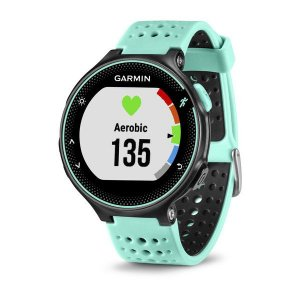 Relógio Monitor Cardíaco GPS Garmin Forerunner 235 Preto Azul