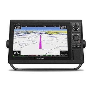 GPS Sonar Garmin GPSMAP 1222XSV Com Transducer e Carta Náutica